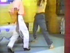 Ballbusting & trampling old video