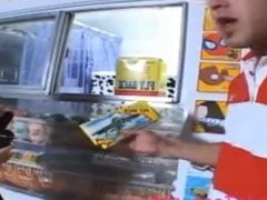 icecream truck tiny teen perfect tits gets fucked