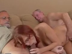 Gabriellas guy cums for the first time ally's sister walks in college