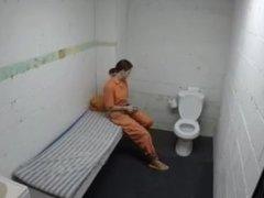 Jail, jumpsuit, handcuffs