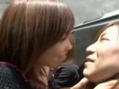 Ultimate Japanese Lesbian Kissing Compilation #1