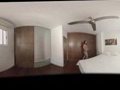 VR Porn Sex Room: Busty Tattooed Girl!  Virtual Porn 360