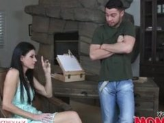 MILF India Summer heats up her son's friend's big dick - Naughty America