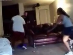 Boyfriend Fights Side Nigga For Fucking His Bitch (What Would You Do?)