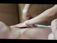 Real Massage And Blowjob For My Friend, Big Dick Cumshot )