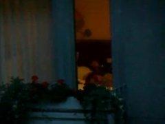 Str8 Jerk Off Hotel Window