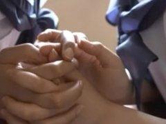 Japanese Lesbian Girls Kiss 2