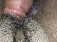 Busting a nut on vagina