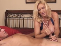 Hot Wife Charlee Chase Brings The Grocery Store Guy Home!