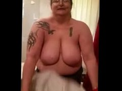 Big Granny Boobs