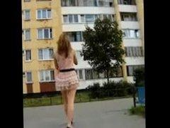 Beautiful ass in public