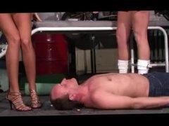 German mistress slave trampling & humilation 3