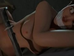 Overwatch - Tracer tied up and fucked (6 mins)