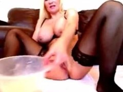 Got Milk ?? Squirting milk out my ass Sophie James