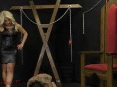 Asian Goddess Cristi Ann With Slave Jack - Femdom Ass Worship