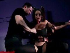 Hot Latina Teen Slave Bound, Blindfolded & Banged Hard By Master