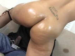 Young Ebony Teen Gets Tight Pussy Creampied By Big Black Daddy