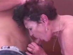Grandmother Sucking Cock