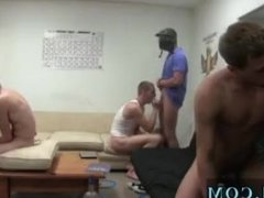 Ryan's gay old men party and hairy white college boys huge cocks