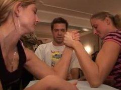 dinner armwrestling tournament part 2