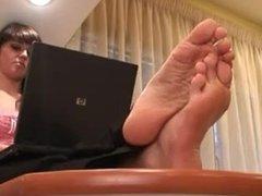 Amanda sexy soles