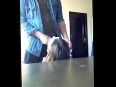 Quick Ride and Facial from a Hot Brunette - vidme.mp4