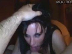 Superhot girlfriend Deepthroats and gets a Facial - vidme.mp4