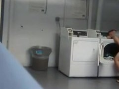 Laundry room fuck