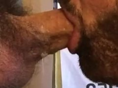 Thick Cock Deep Throated Balls Deep at Glory Hole in Philly