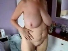 Great stolen video of my busty mom nude