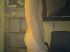 FRENCH DUDE WANKING ON CAM