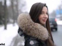 Julie skyhigh fur walking