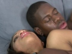 Hot Busty Ebony Teen Gets Creampie By Monster Black Cock