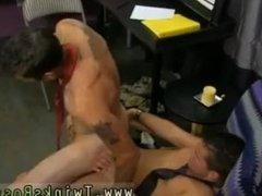 Wyatt-bisexual husband swallows cum gay porn hot dick for