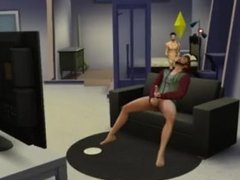 The Sims 4: Liam Payne & Zayn Malik - Anal Sex in the Couch