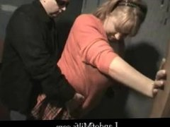Redhead Milf Used and Abused At Glory Hole