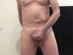 Wanking and cumming