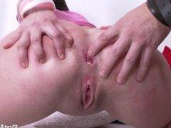 FIRSTANALQUEST.COM -TEEN ANAL GAPE SEX WITH SWEET VIRGIN GIRL SANDRA