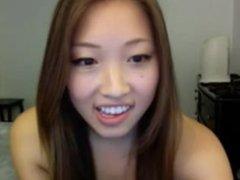 Hot Asian Girl Masturbates On MFC