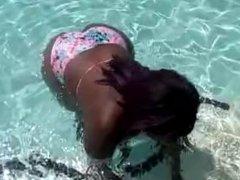 Dirty Diana Swimming