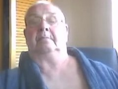 70 Year Old English Bloke Showing Off on Omegle