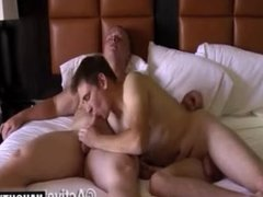 Hot gay flip flop and cumshot