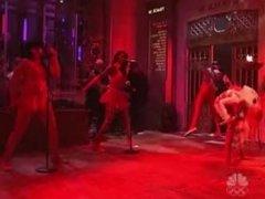 Lady Gaga Red Lack Paparatzzi