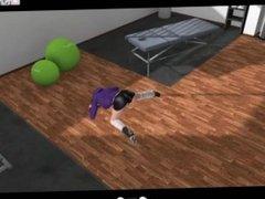 La dépravation de Céline - Episode 1 (BD animée - 3DCG - No sound)
