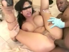 MILF Squirts Over BBC Anal