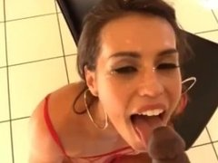 Kelsi Monroe gets POV facialized by huge BBC