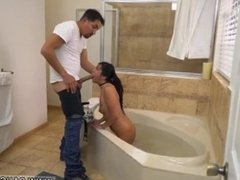 Arianna's step dad and crony's daughter hot mom caught fucking almost