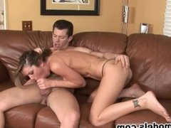 MILF Cougar KAYLA PAIGE Fucks Younger Guy for His Cum Load!