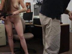 Riley's amateur brunette big tits dancing street hooker