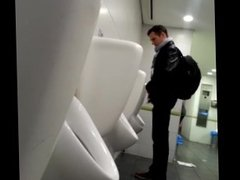 Spy Straight Urinal Piss Airport